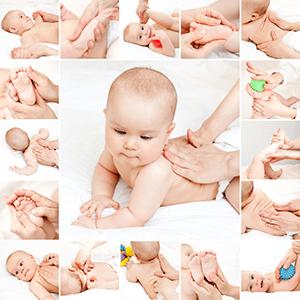 младенец на 2 месяце жизни