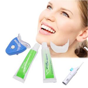 как можно отбелить зубы дома